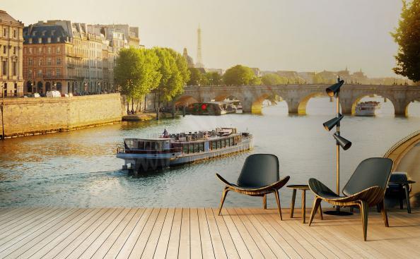 Fototapeta krajina Paříže do obývacího pokoje