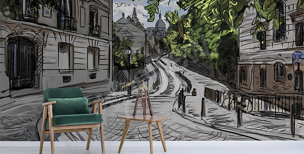 Fototapeta městské panorama