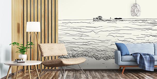 Fototapeta moře do obývacího pokoje