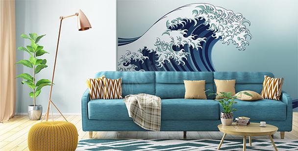 Fototapeta mořská vlna