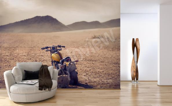 Fototapeta motorek do obývacího pokoje