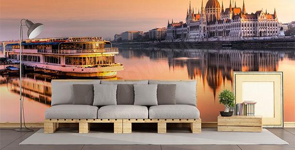 Fototapeta panorama Budapešti