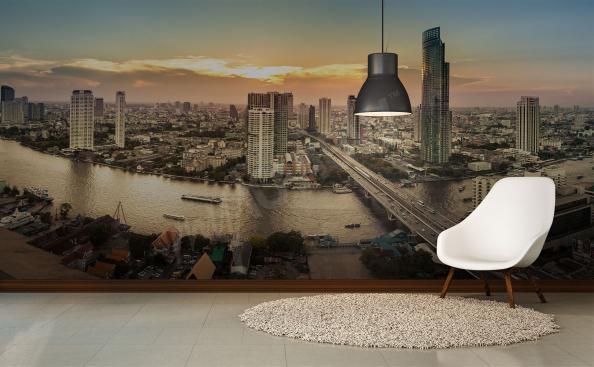 Fototapeta panorama města – Bangkok