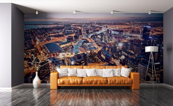 Fototapeta panorama města v Austrálii