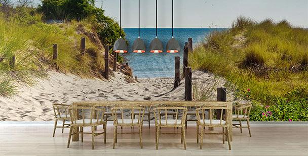 Fototapeta pláž do jídelny