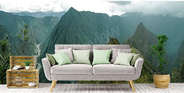 Fototapeta pohled na Machu Picchu