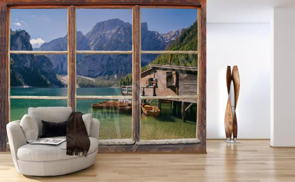 Fototapeta pohled z okna