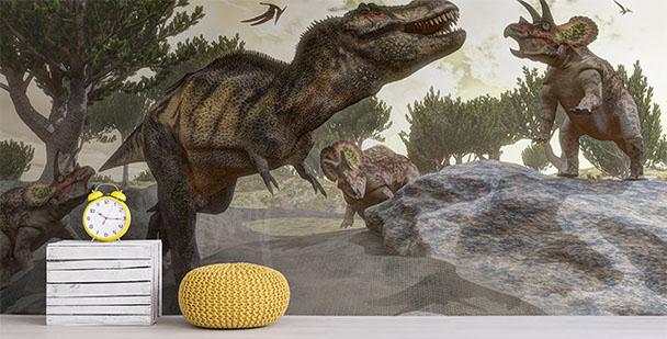 Fototapeta pro chlapce dinosauři