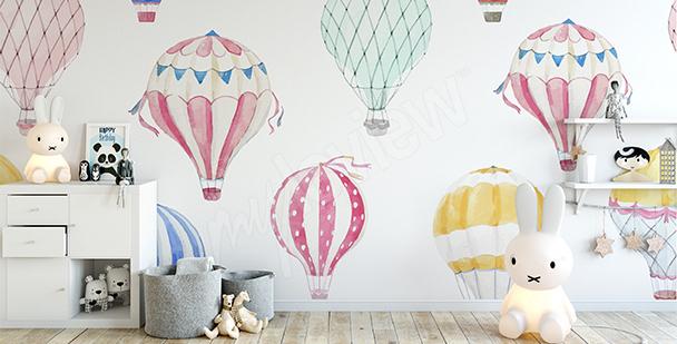Fototapeta pro holčičky: balóny