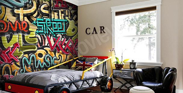 Fototapeta pro mládež graffiti