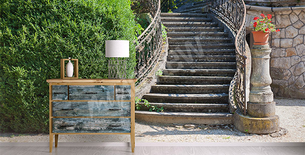 Fototapeta prostorová schody