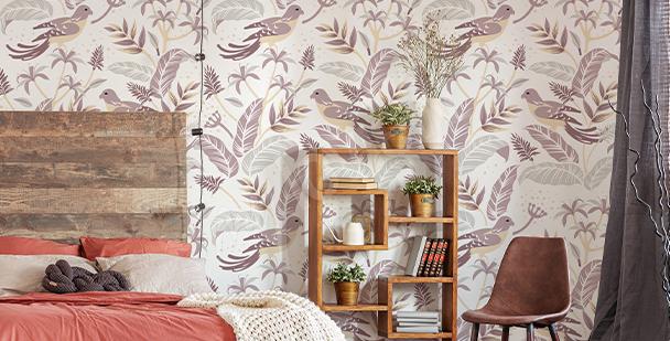 Fototapeta ptáci do ložnice