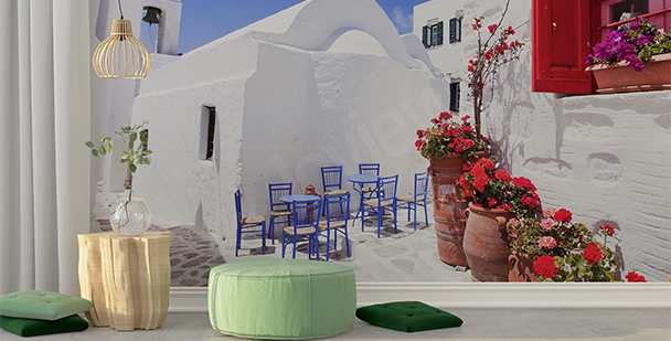 Fototapeta řecké městečko
