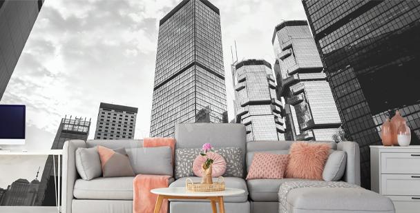 Fototapeta s budovami Hongkongu