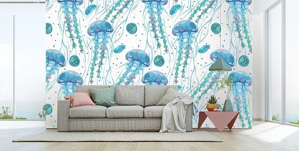 Fototapeta s medúzami