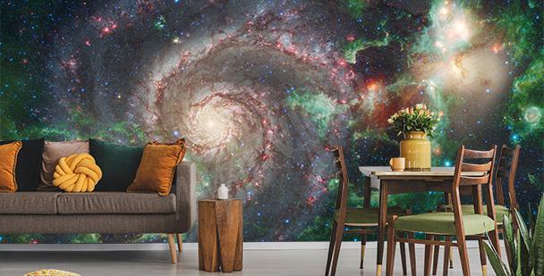 Fototapeta s vesmírným prostorem