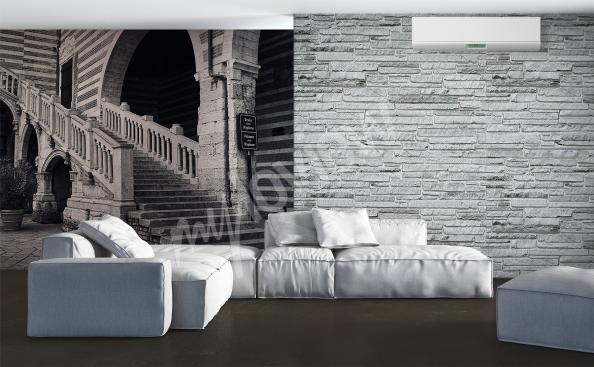 fototapeta schody do obývacího pokoje