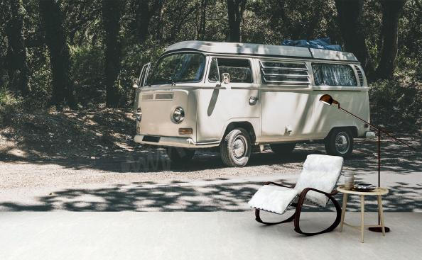 Fototapeta starodávný bus