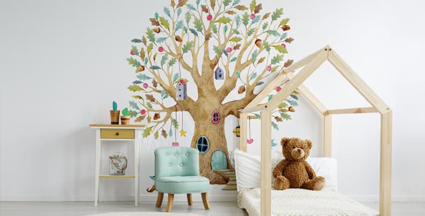 Fototapeta strom do dětského pokoje
