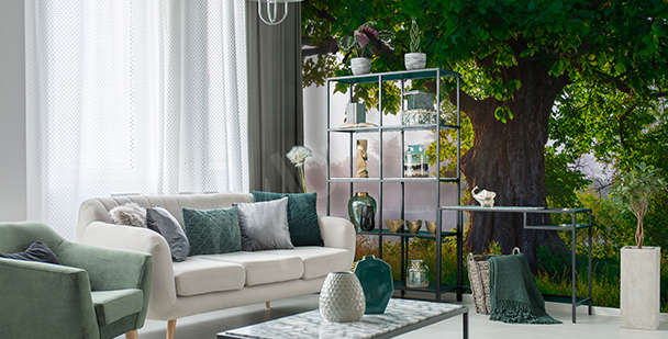Fototapeta strom do obývacího pokoje