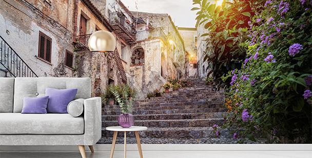 Fototapeta ulička italského města