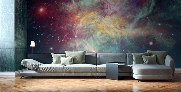 Fototapeta vesmír galaxie