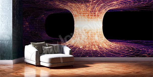 Fototapeta vesmírná abstrakce