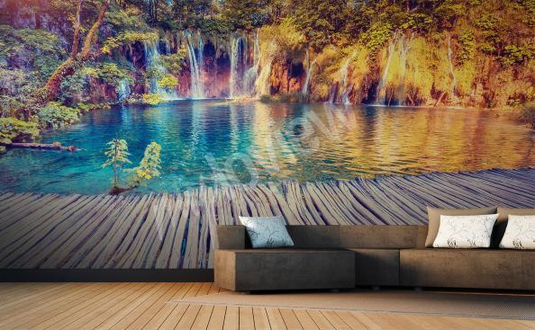 Fototapeta vodopád do obývacího pokoje