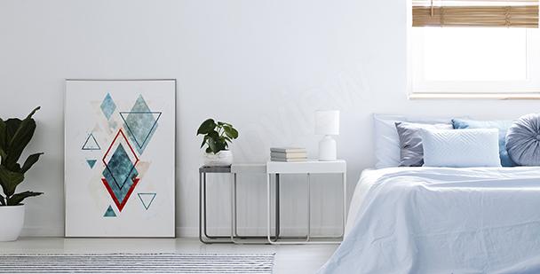 Geometrický dekorativní plakát