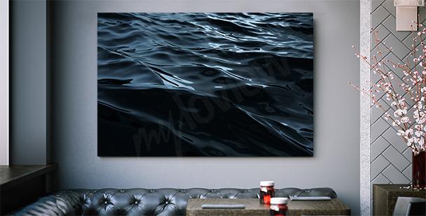 Grafický obraz s mořem
