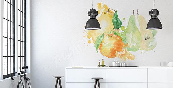 Kuchyňská nálepka podzimní ovoce