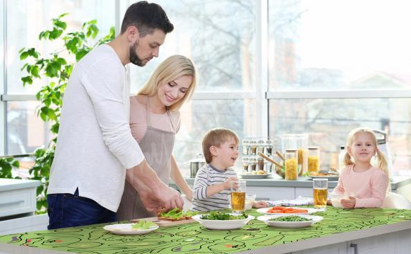 Kuchyňský stůl nálepka