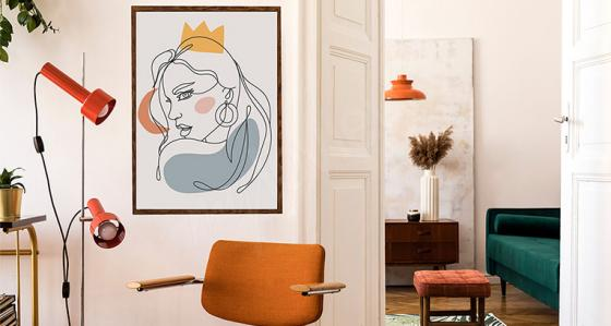 Line art: minimalistické plakáty, které dokazují, že méně znamená více