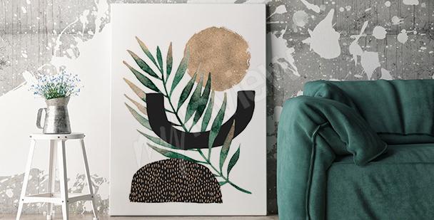 Minimalistický obraz do obývacího pokoje