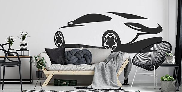 Moderní nálepka do obývacího pokoje