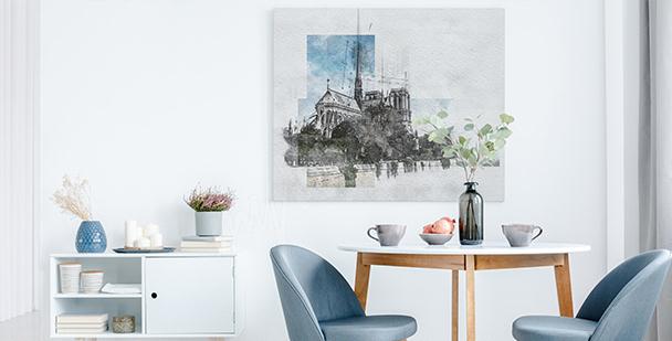Moderní obraz Paříž