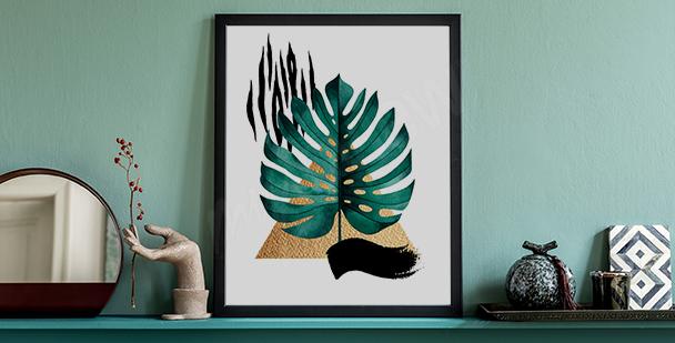 Moderní plakát příroda