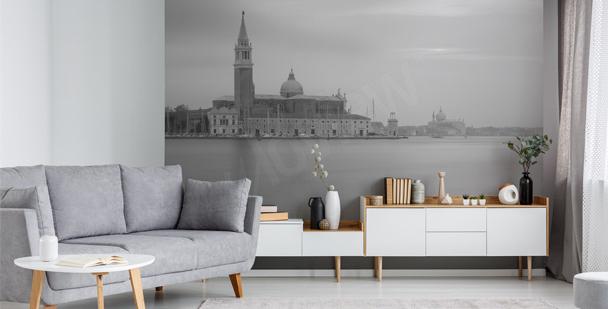 Monochromatická fototapeta Benátky