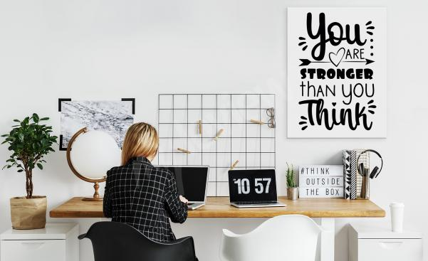 Motivační obraz do kanceláře