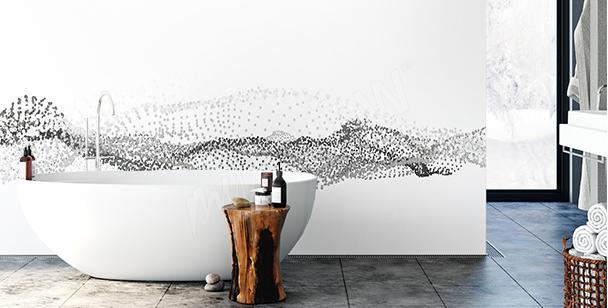 Nálepka 3D vlna