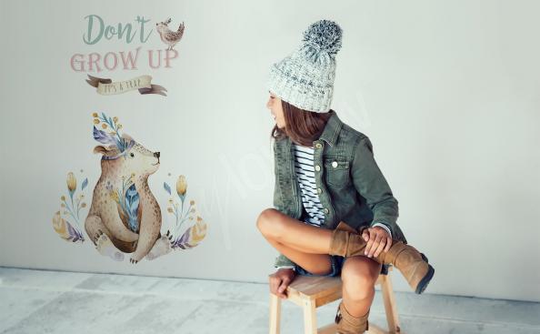 Nálepka do dívčího pokoje skandinávský styl