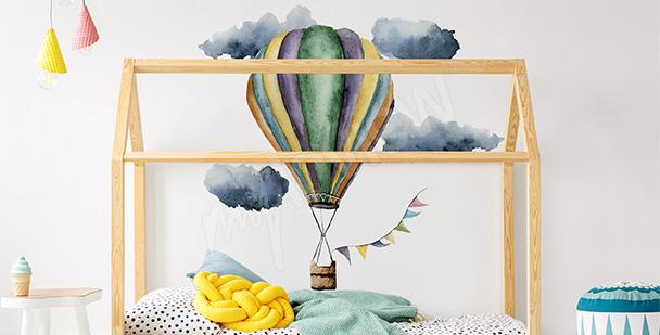 Nálepka do holčičího pokoje balón