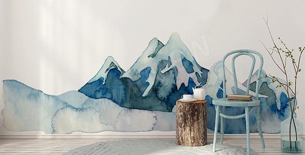 Nálepka horská příroda