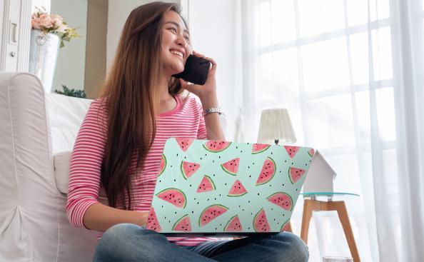 Nálepka na notebook melouny