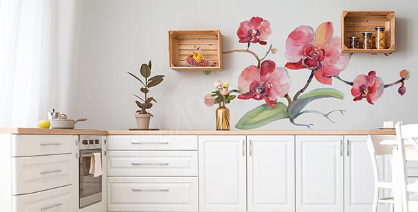 Nálepka orchidej do kuchyně