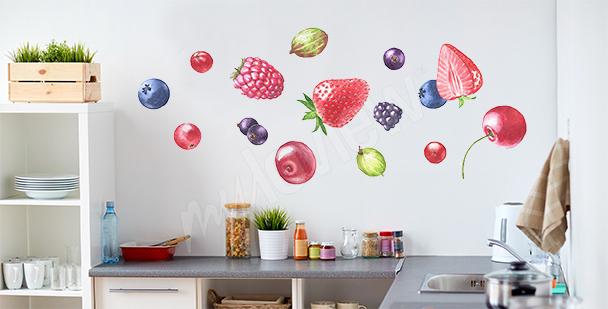 Nálepka ovoce do kuchyně