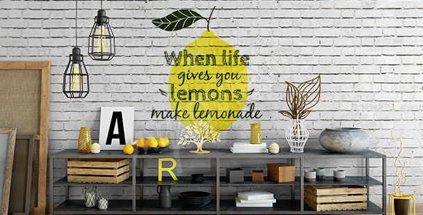 Nálepka pro milovníky citronády