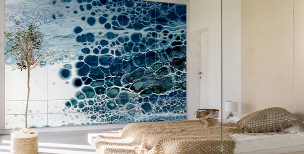 Nálepka s texturou vody