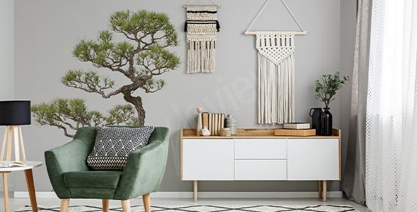 Nálepka strom bonsai