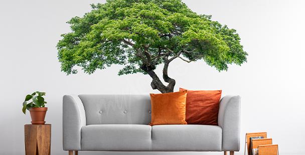 Nálepka strom s listím